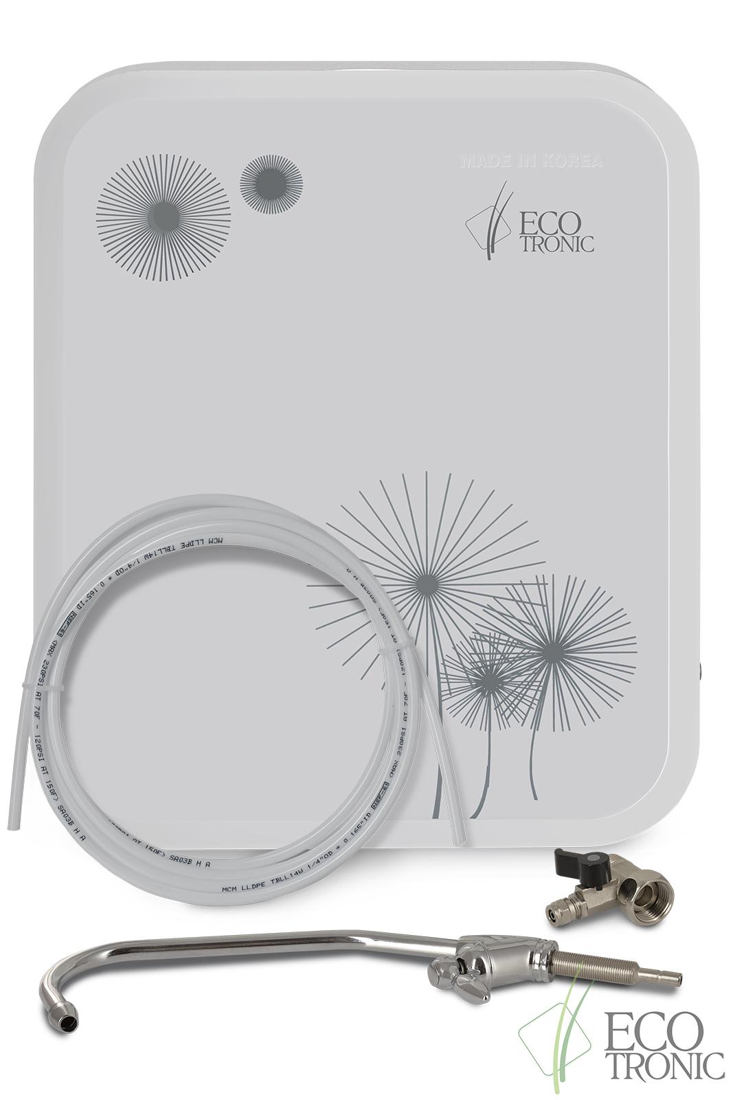 Система ультрафильтрации под мойку Ecotronic F2-U4 white