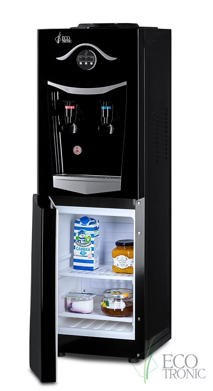 Кулер Ecotronic K21-LF black+silver с холодильником