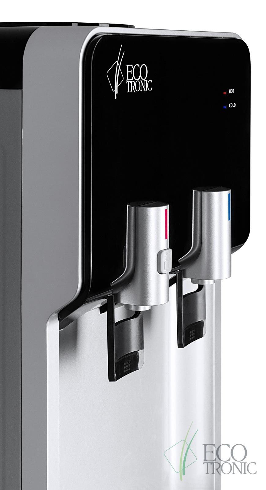Кулер Ecotronic M40-LCE black+silver