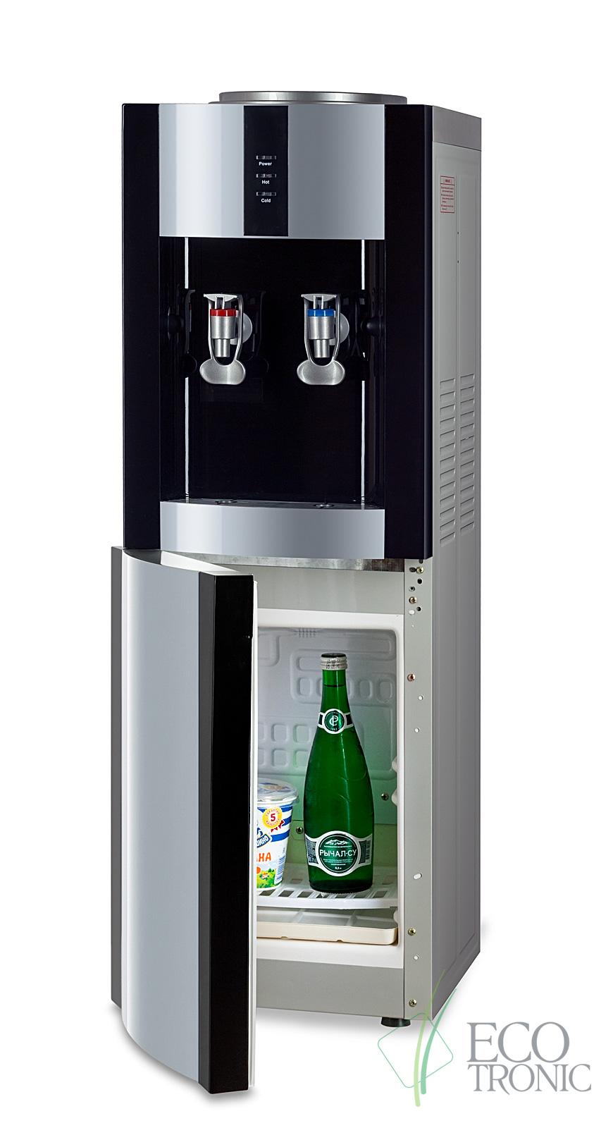 """Кулер """"Экочип"""" V21-LF black+silver с холодильником"""