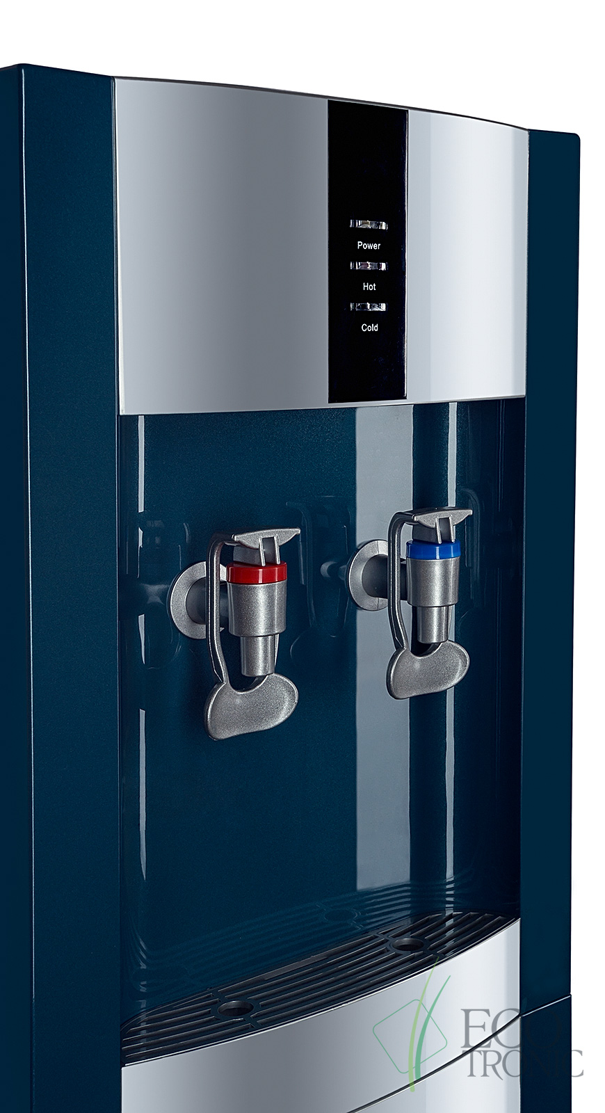 """Кулер """"Экочип"""" V21-LF green+silver с холодильником"""
