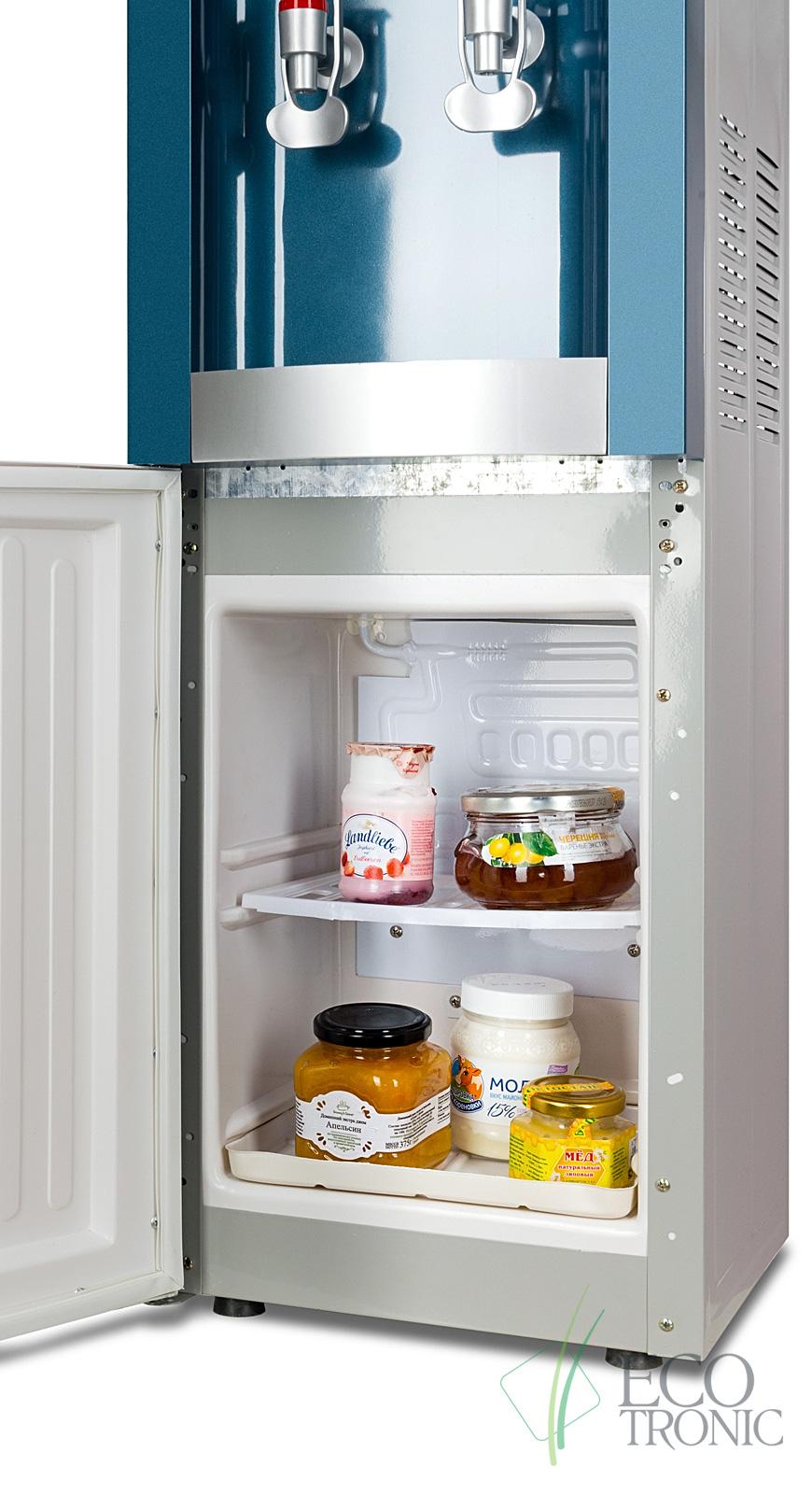"""Кулер """"Экочип"""" V21-LF green+silver c холодильником"""