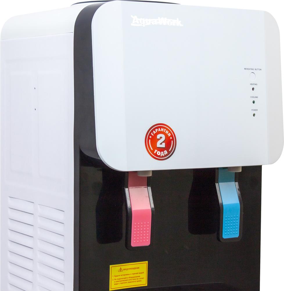 Кулер для воды Aqua Work 105-TKR бело-черный