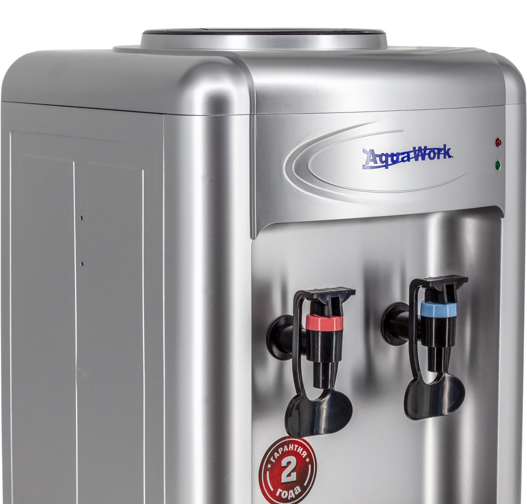 Кулер для воды Aqua Work 0.7-TKR серебро