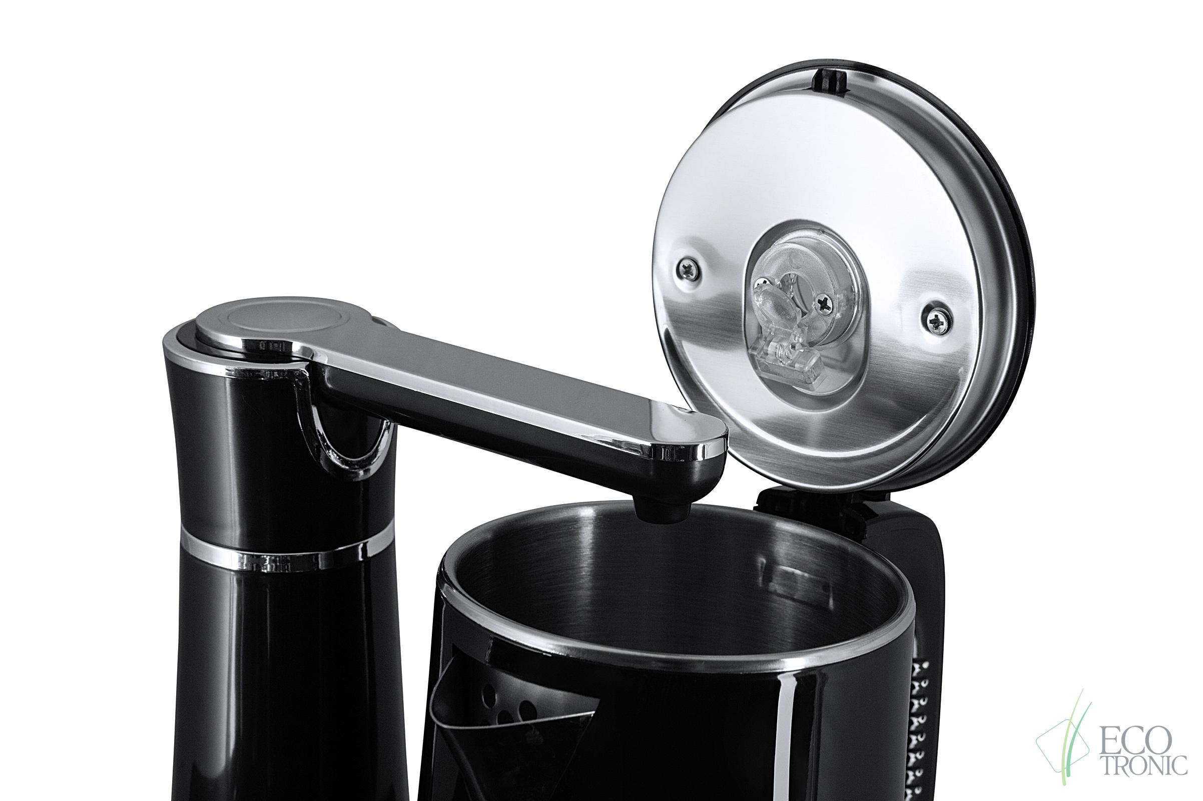 Кулер с чайным столиком Тиабар Ecotronic TB7-LE gold