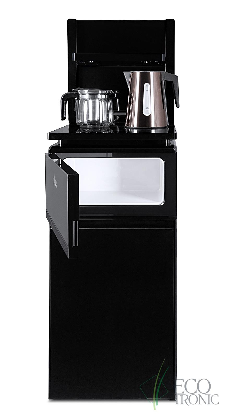 Кулер с чайным столиком Тиабар Ecotronic TB8-LE black