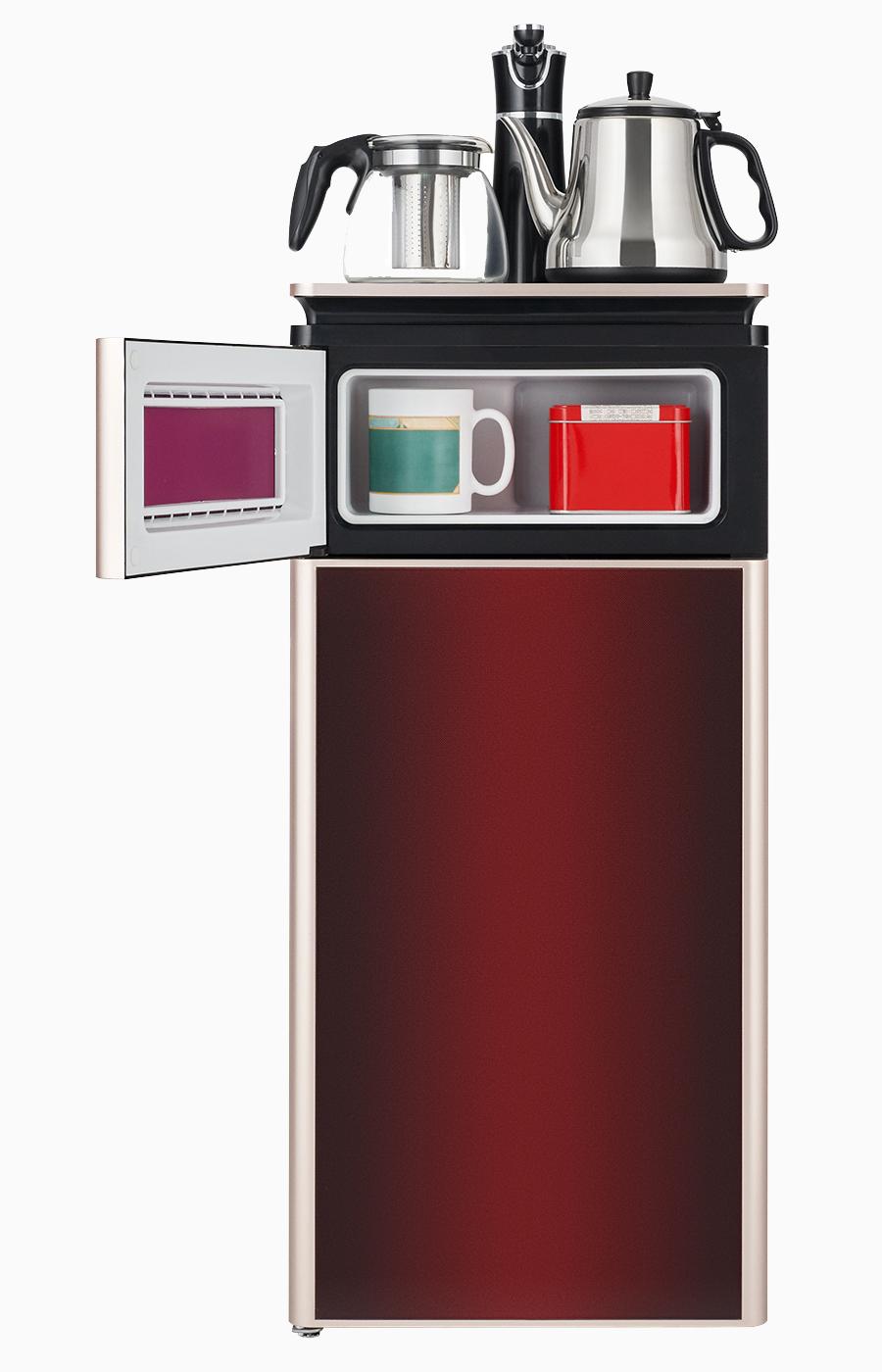 Кулер с чайным столиком Тиабар LK-AEL-51a red