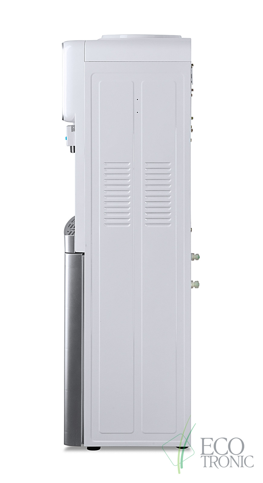 Кулер Ecotronic J21-LC white+silver