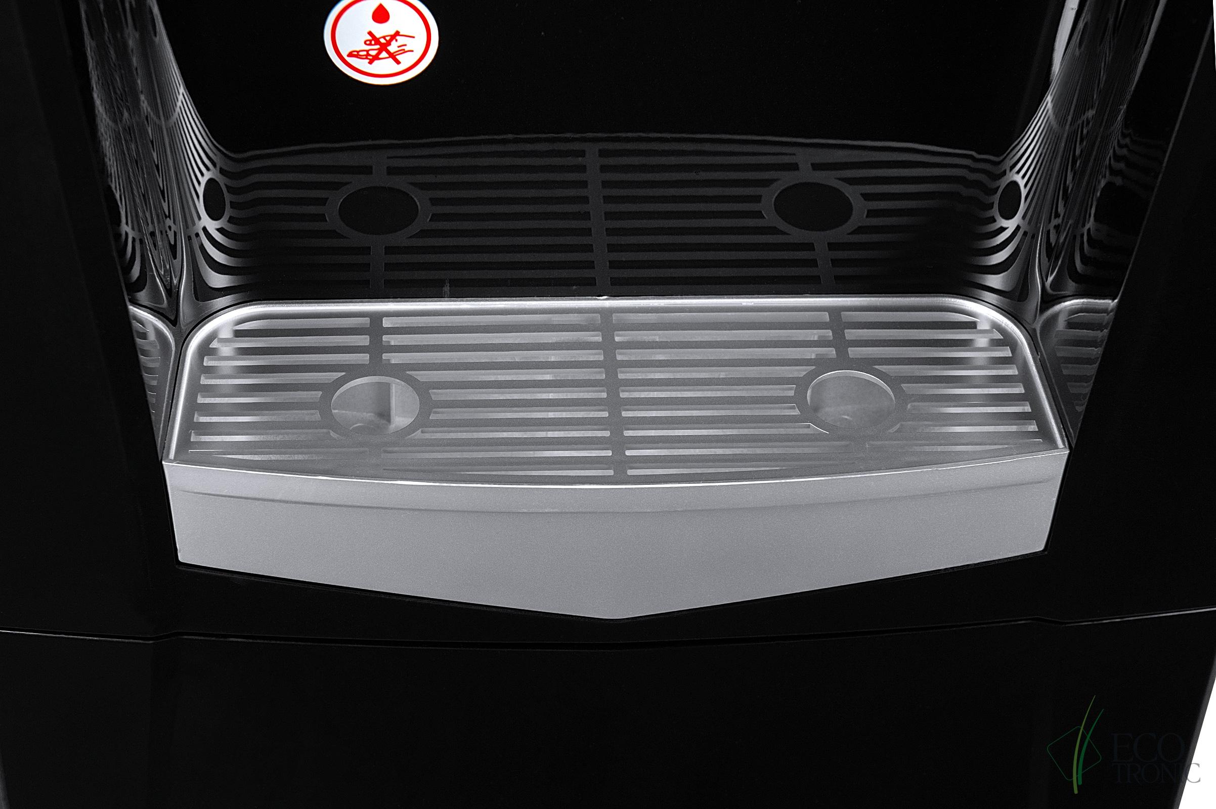 Кулер Ecotronic K21-LCE black+silver