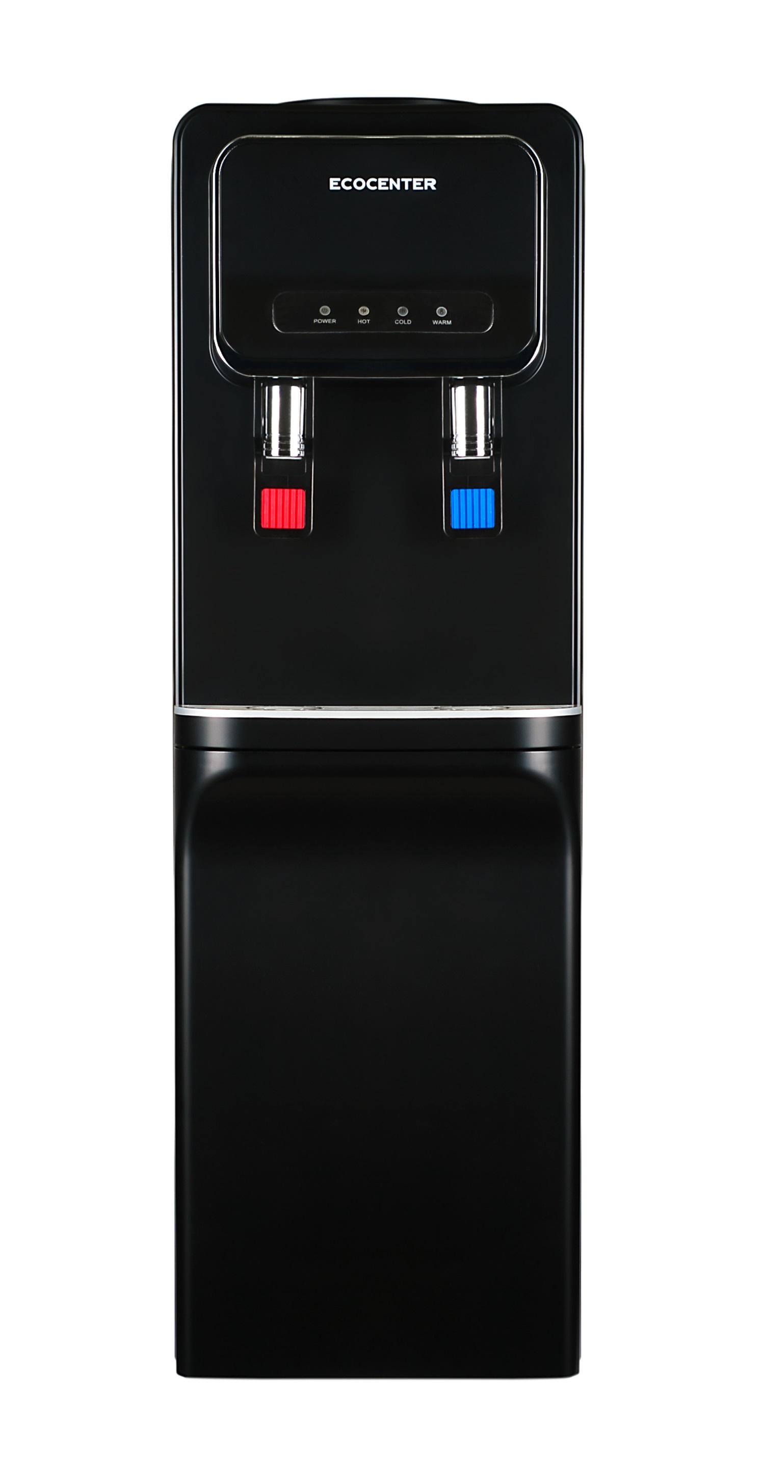 Кулер для воды ECOCENTER G-F93EC черный