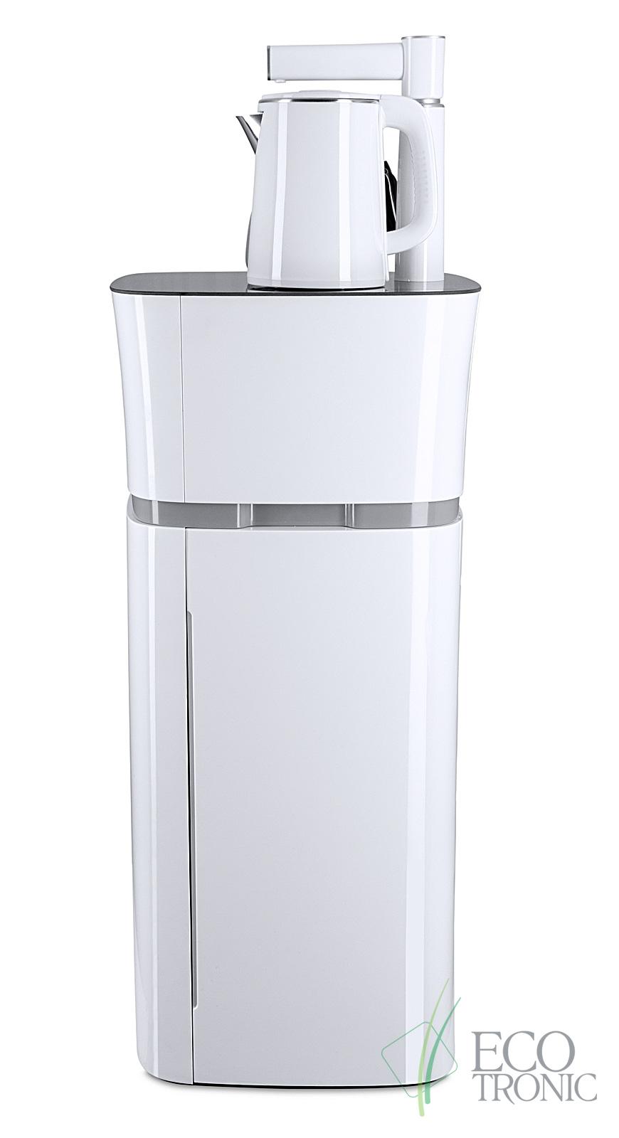 Кулер с чайным столиком Тиабар Ecotronic TB11-LE white