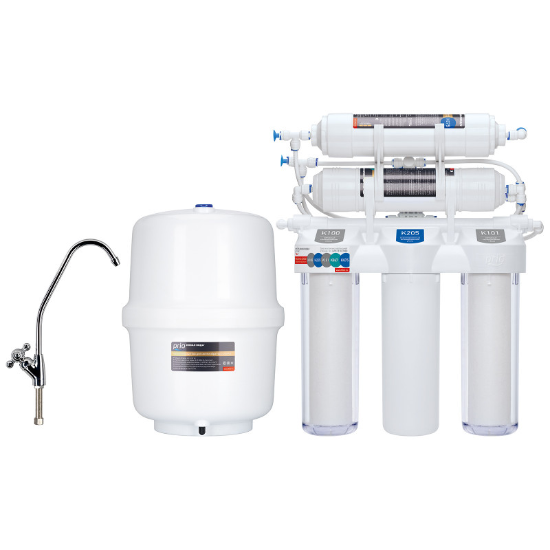 Система обратного осмоса с минерализацией Praktic Osmos OU510