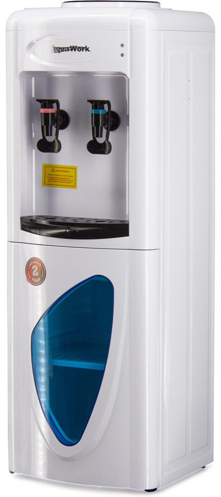 Кулер для воды Aqua Work 0.7-LR белый