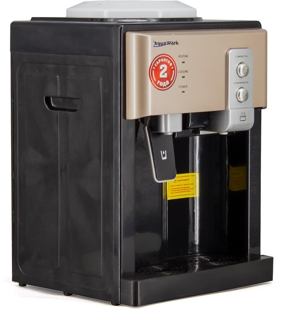 Кулер для воды Aqua Work 19-TD черный-золотой